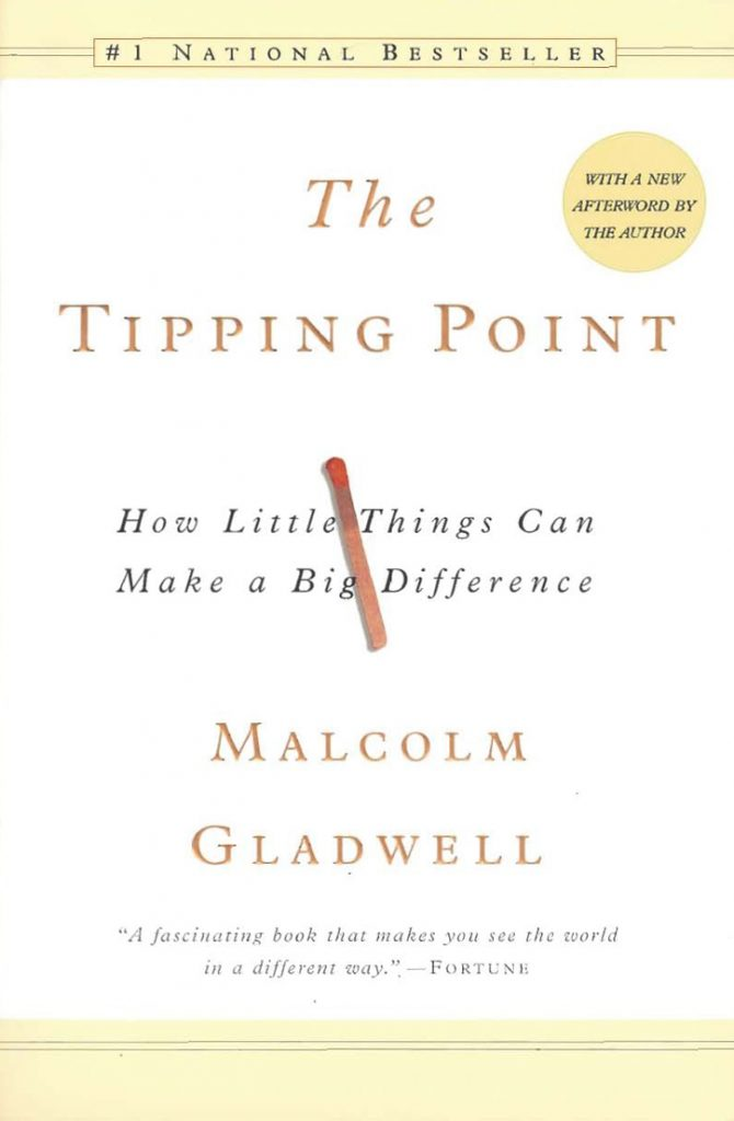 Book Cover: Tipping Point by Malconm Gladwell